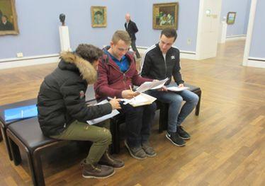 Besuch der Neuen Pinakothek der Moderne im Fach Französisch