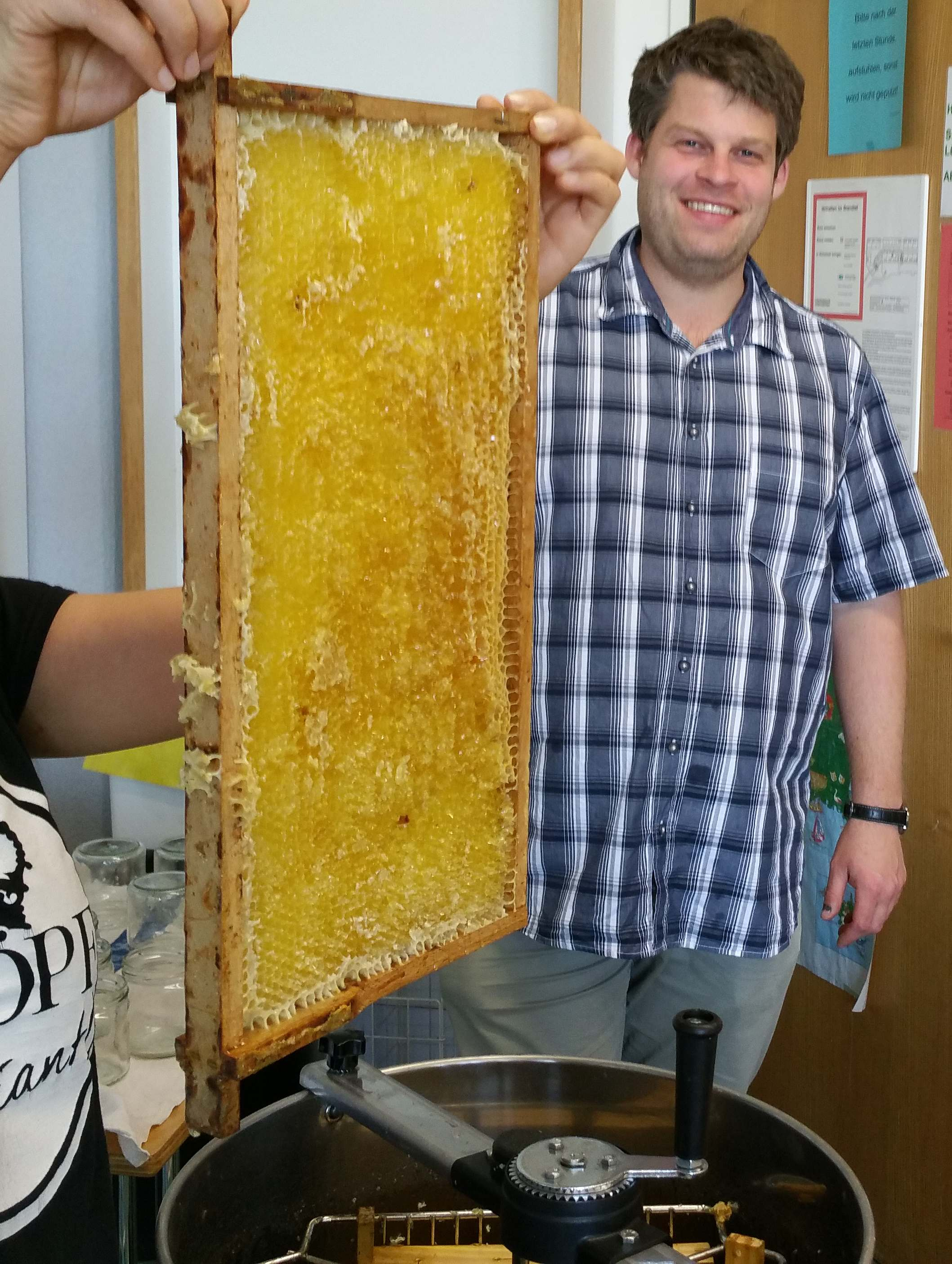 Der neue Honig ist da! Der MüKo – Imker berichtet: