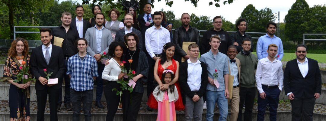 Städtisches Münchenkolleg: Abiturfeier 2020