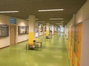 Innenräume und Sekretariat des Münchenkollegs : Abitur auf dem Zweiten Bildungsweg / Infoabend